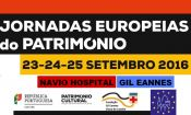 "Navio Gil Eannes integra as ""Jornadas Europeias do Património 2016"""
